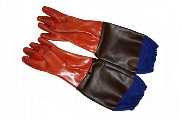 rękawice powlekane PCV
